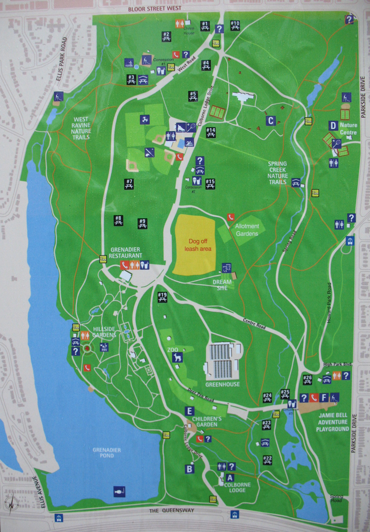 Map Of High Park High Park Toronto map and driving directions