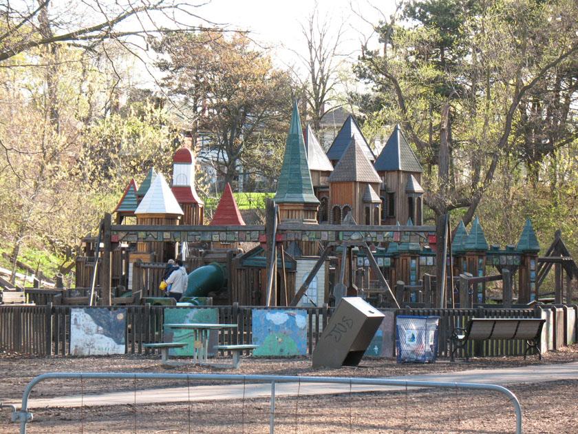Park Playground With Kids